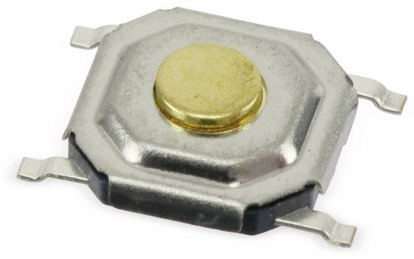 SMD Miniatur-Eingabetaster, 5x5x1,5 mm