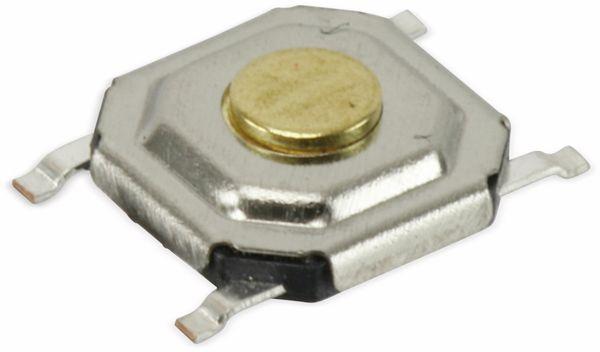 SMD Miniatur-Eingabetaster, 5x5x1,5 mm - Produktbild 2