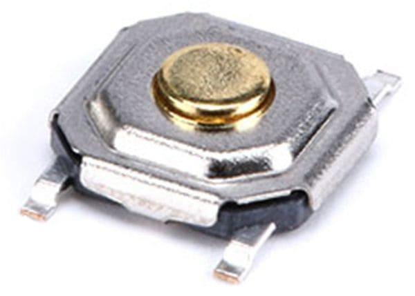 SMD Miniatur-Eingabetaster, 5x5x1,7 mm