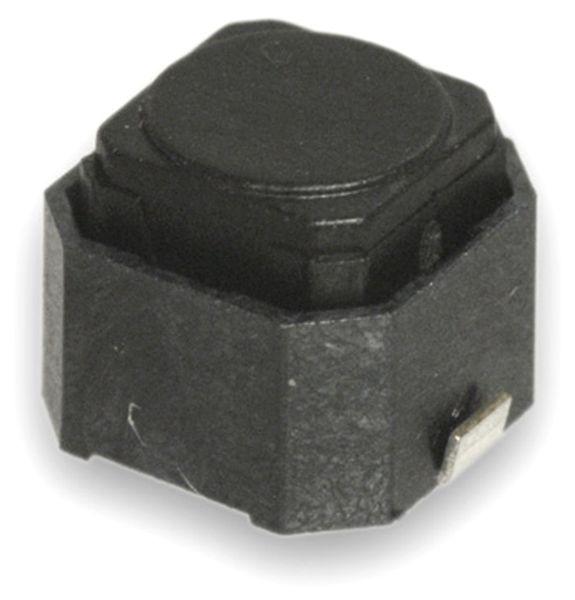 SMD Miniatur-Eingabetaster, 6x6x5 mm - Produktbild 1