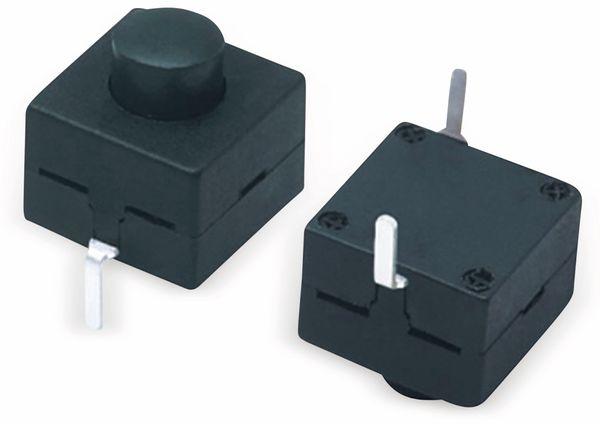 Miniatur-Druckschalter YT-8008-112A, 8,3x8,3 mm, Ein/Aus - Produktbild 1
