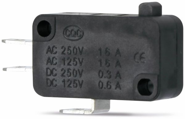 Miniatur-Schnappschalter MS-A, ohne Zusatzbetätiger - Produktbild 1