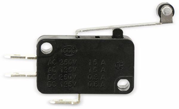 Miniatur-Schnappschalter MS-B, mit Rollenhebel-Zusatzbetätiger - Produktbild 3