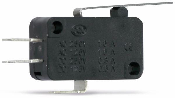 Miniatur-Schnappschalter MS-C, mit Zusatzbetätiger 27 mm - Produktbild 1