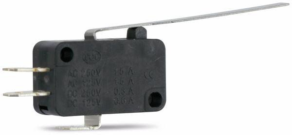 Miniatur-Schnappschalter MS-D, mit Zusatzbetätiger 52 mm - Produktbild 1