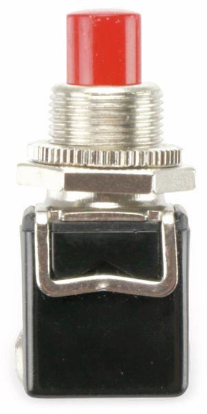 Einbau-Drucktaster PBS-13B, 1 Schließer, rot - Produktbild 2