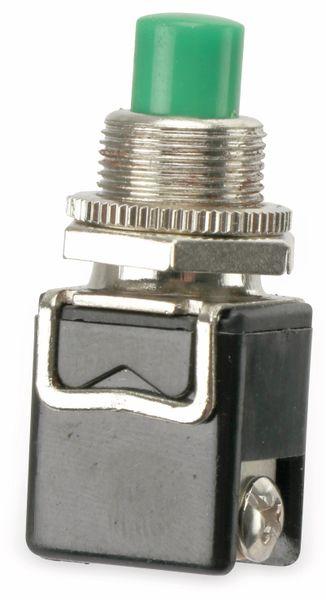 Einbau-Drucktaster PBS-13B, 1 Schließer, grün - Produktbild 1