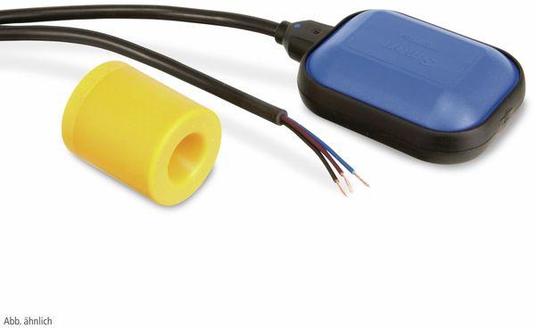 Schwimmerschalter mit 10 m PVC Kabel und Gegengewicht