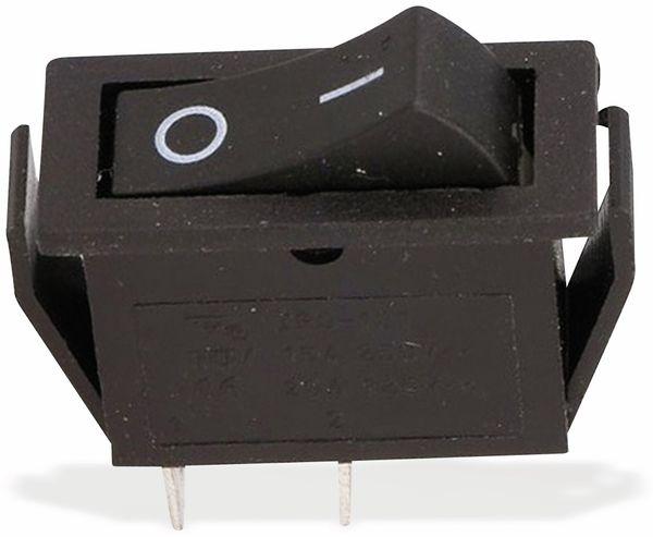 Wippenschalter 1-pol., 1xUM, 30x11mm, 16 A/ 250 V - Produktbild 2