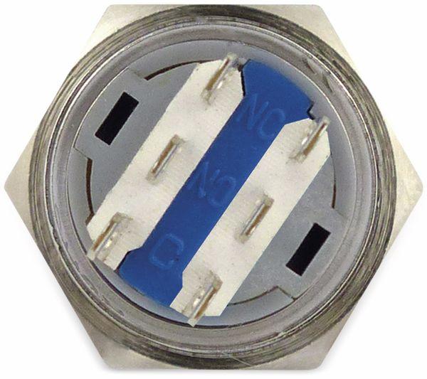 Schlüsselschalter metall 19 mm, 2 x Wechsler - Produktbild 2