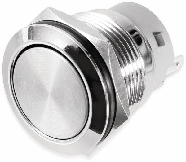 Druckschalter, Ø19 mm, 5 A/48 V