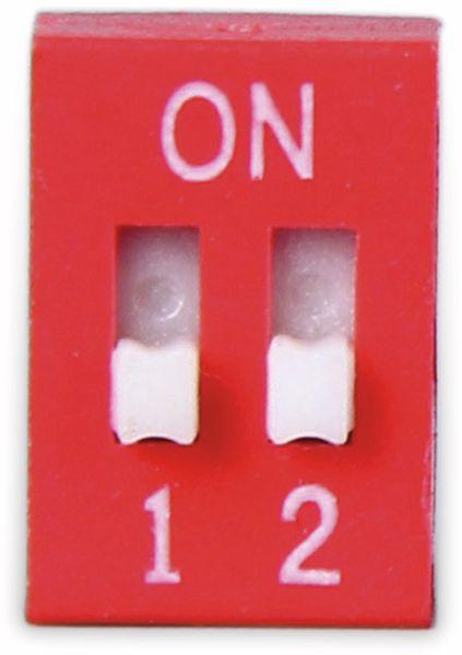 DIP-Schalter, ONPOW, 2 polig