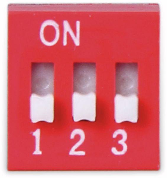 DIP-Schalter, ONPOW, 3 polig
