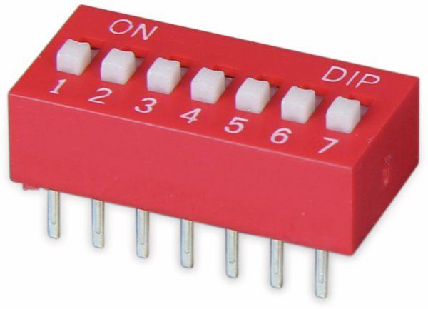 DIP-Schalter, ONPOW, 7 polig - Produktbild 2