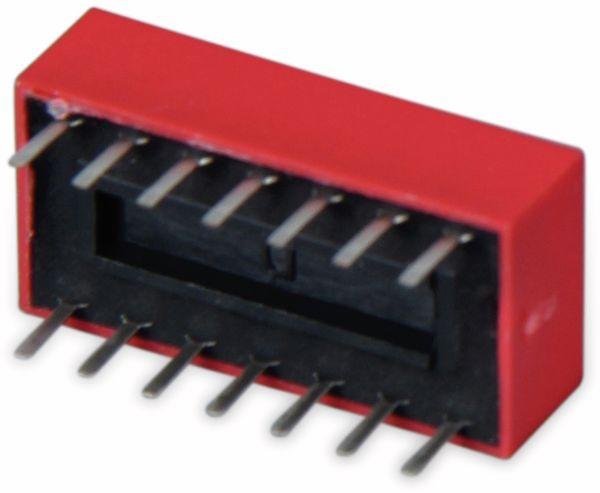 DIP-Schalter, ONPOW, 7 polig - Produktbild 3