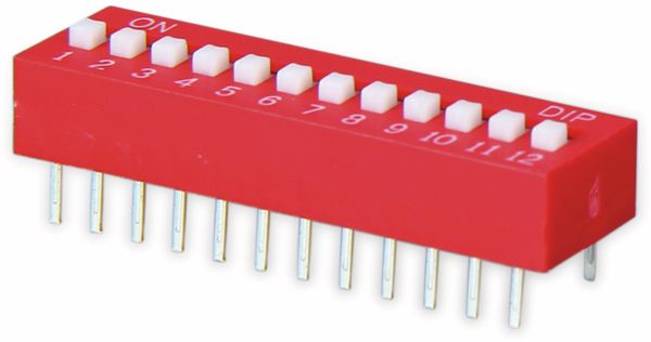 DIP-Schalter, ONPOW, 12 polig - Produktbild 2