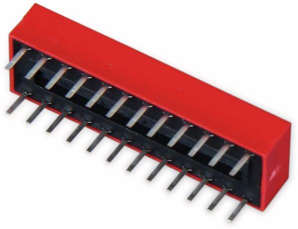DIP-Schalter, ONPOW, 12 polig - Produktbild 3