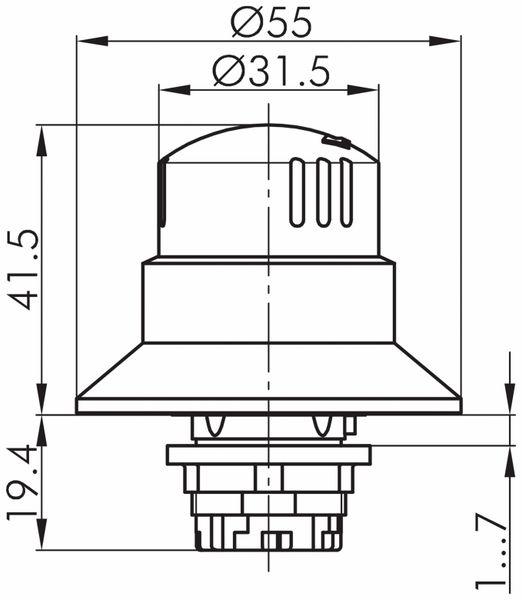 Schlegel, Not-Halt-Taste; QRBUV - Produktbild 2