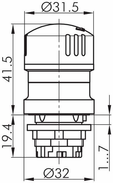 Schlegel, Not-Halt-Taste; QRUV - Produktbild 2