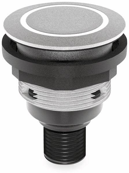 Schlegel, Drucktaster mit Ringbeleuchtung und M12-Anschluss 4-polig; STLRWI_C005