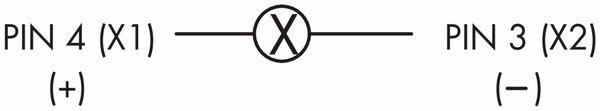 Schlegel, Meldeleuchte mit M12-Anschluss 4-polig; SVAN_C010 - Produktbild 2