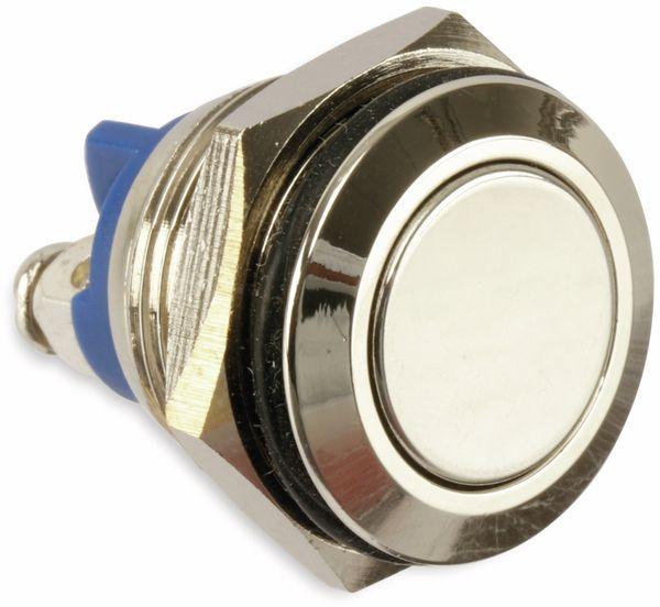 Drucktaster, Ø 18 mm, 30 V/3 A