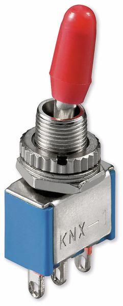 Kippschalter Miniatur, Goobay, 250 V/AC, 3 A, EIN-EIN