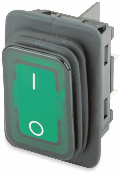 Wippenschalter, MARQUARDT, 01935.3118, rastend, 250 V/AC, 20 A, 2 x AUS/EIN