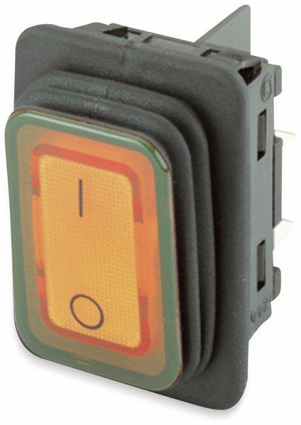Wippenschalter, MARQUARDT, 01935.3114, rastend, 250 V/AC, 20 A, 2 x AUS/EIN
