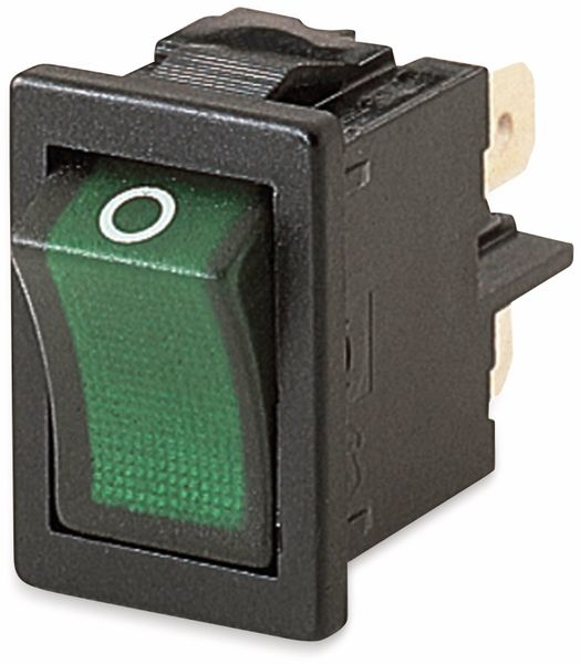 Wippenschalter, MARQUARDT, 01855.1108, rastend, 250 V/AC, 4 A, 2 x AUS/EIN