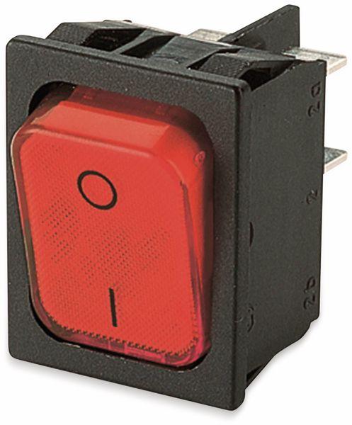 Wippenschalter, MARQUARDT, 01835.3112, rastend, 250 V/AC, 20 A, 2 x EIN/AUS