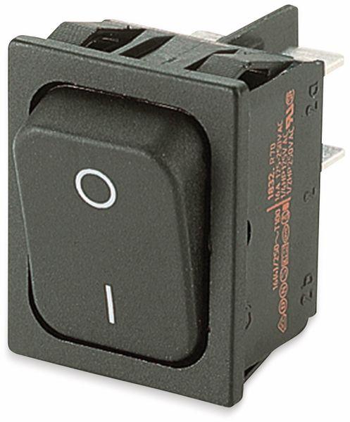 Wippenschalter, MARQUARDT, 01832.3312, rastend, 250 V/AC, 20 A, 2 x AUS/EIN