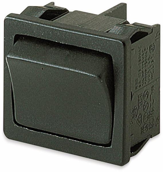 Wippenschalter, MARQUARDT, 01804.1121, rastend, 250 V/AC, 10 A, 2 x EIN/EIN
