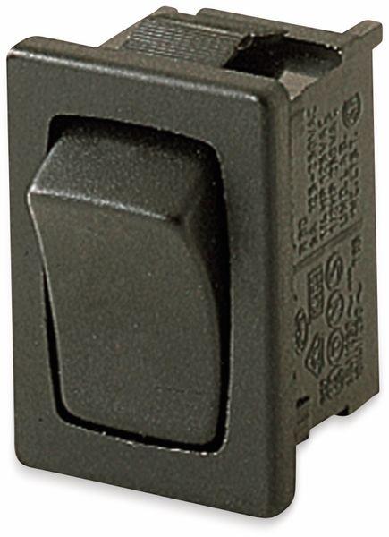Wippenschalter, MARQUARDT, 01803.1202, tastend, 250 V/AC, 6 A, 1 x EIN/(EIN)