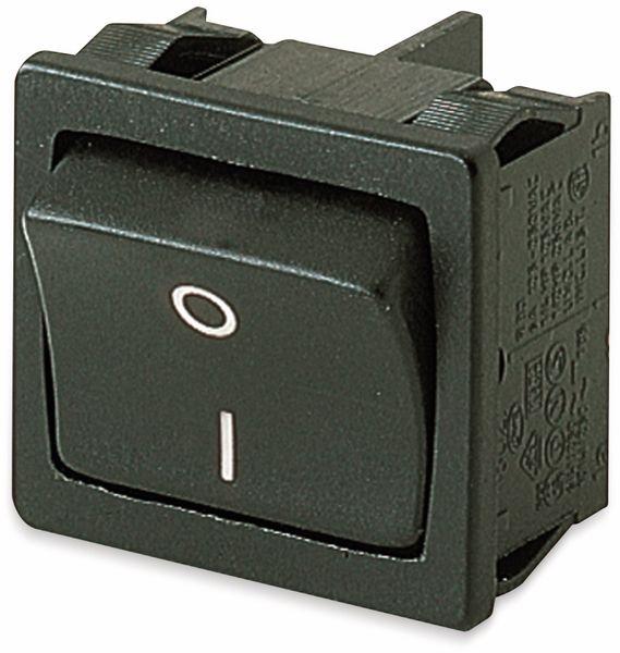 Wippenschalter, MARQUARDT, 01802.1123, rastend, 250 V/AC, 8 A, 2 x AUS/EIN