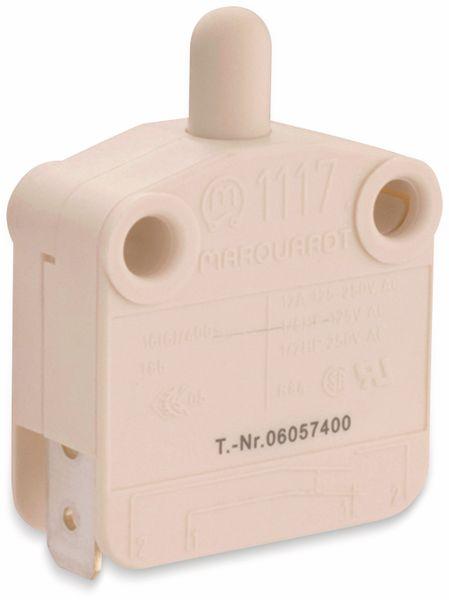 Druckschalter, MARQUARDT, 01117.0206, tastend, 400 V/AC, 16 A, 1 x EIN/(AUS)