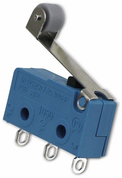Mikroschalter, MARQUARDT, 01050.5702, tastend, 250 V/AC, 10 A, 1 x EIN/(EIN)