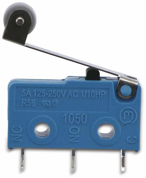 Mikroschalter, MARQUARDT, 01050.5702, tastend, 250 V/AC, 10 A, 1 x EIN/(EIN) - Produktbild 2