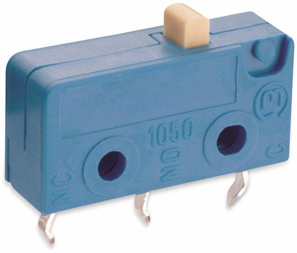 Mikroschalter, MARQUARDT, 01050.2102, tastend, 250 V/AC, 10 A, 1 x EIN/(EIN)
