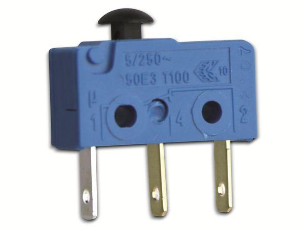 Mikroschalter, MARQUARDT, 01050.1202, tastend, 250 V/AC, - Produktbild 2