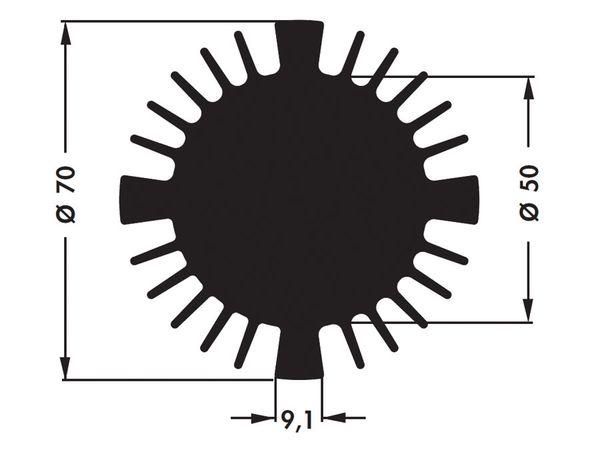 Kühlkörper für COB-LED FISCHER SK57015SA - Produktbild 4