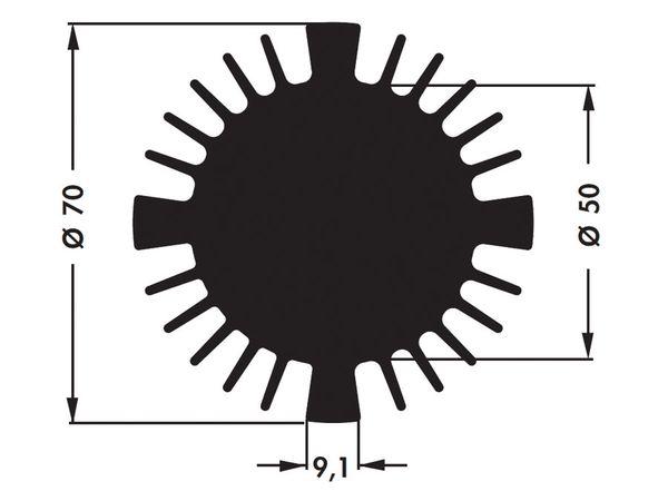 Kühlkörper für COB-LED FISCHER SK57050SA - Produktbild 4