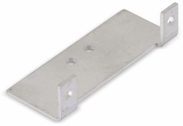Aluminium-Kühlkörper mit Montagewinkeln - Produktbild 1