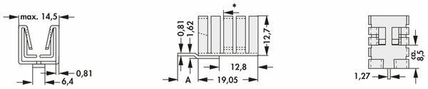 Kühlkörper, Fischer Elektronik, FK 237 SA220 V, Fingerkühlkörper, schwarz, Aluminium - Produktbild 2