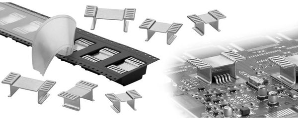 Kühlkörper, Fischer Elektronik, FK 244 13 D2 PAK, SMD Kühlkörper, blank, Aluminium - Produktbild 2
