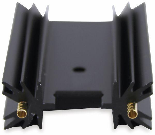 Kühlkörper, Fischer Elektronik, SK 104 50,8 STC, Leiterkartenkühlkörper , schwarz, Aluminium - Produktbild 2