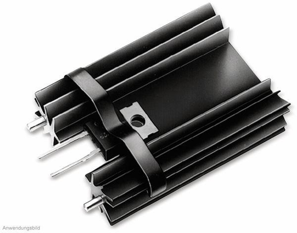 Transistorhaltefeder, Fischer Elektronik, THF 104