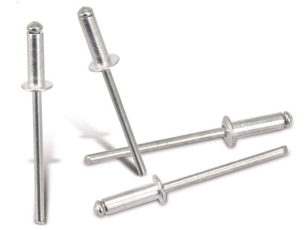 Alu-Blindnieten, 3,2 mm, 50 Stück
