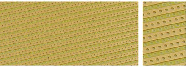 Streifenrasterplatine 160 x 100mm, RM 5,08