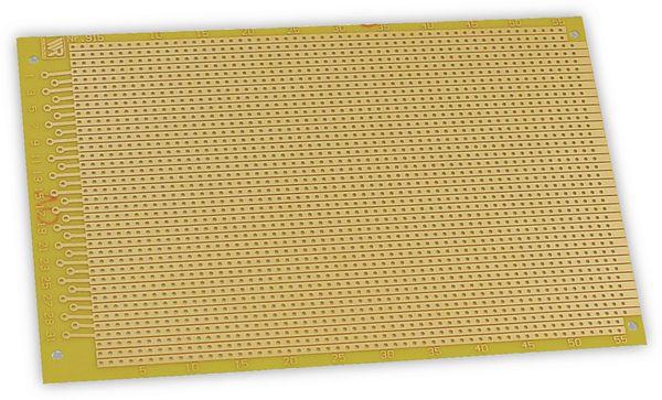 Streifenrasterplatine 160 x 100mm, RM 2,54 - Produktbild 1